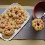 Biscottini latte e rosa