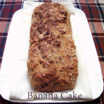 Banana Cake:  pane da colazione