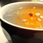 Zuppa di funghi e zucca