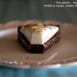 Meringata fondente al cioccolato