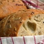 Pane alla farina di farro e semi di girasole