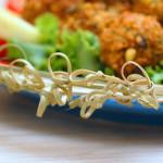 Falafel e Hummus… con variazione al peperone!