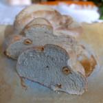 Pane integrale al Kamut: variazione alle nocciole