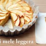 Torta di mele leggera e… auguri blog !!