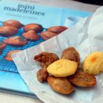 Madeleines variegate alla crema Gianduia e al Lemon Curd