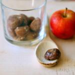 Primi pranzi per bambini: Tacchino alle castagne e mele