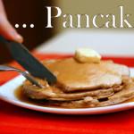 Pancakes alle castagne con sciroppo d'acero (e burro fuso!)