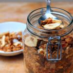 Granola alla frutta e semi