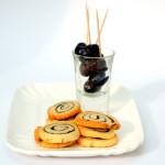 Biscotti salati con topenade di olive…NERO!