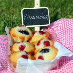 Financiers ai lamponi