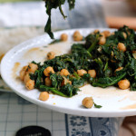 Indian Style: ceci e spinaci al coriandolo
