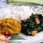 Dahl piccante di lenticchie e riso basmati