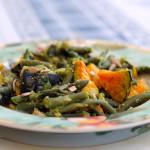 Insalata di zucca e fagiolini al pesto di zucchina… e Bento-premi!