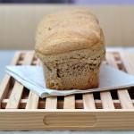 Pane di segale con composta di pere, castagne,  fava tonka e… stevia.