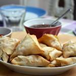 Pranzo indiano: Saamosa, chutney al tamarindo e Daal di lenticchie