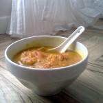 Vellutata di zucca, lenticchie rosse e curry… mannaggia a Facebook !!