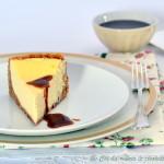 La Cheesecake di California Bakery… con salsa mou al caramello salato.