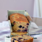Vegan Banana Bread (with Blueberries)