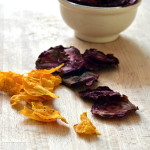 Chips di zucca e barbabietola rossa