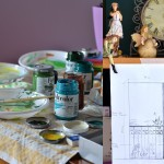 Cake allo yogurt e mele… dipinti e Trompe l'oeil