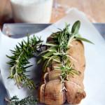 Arrosto alla crema di latte e funghi… quando la carne non c'è eppur si vede!