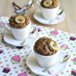 Banana Muffins al caffè e noci tostate