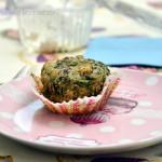 Senza latte: Muffins salati al tofu e spinaci