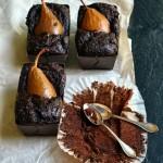 Torta vegana al cacao, zucca e pere ed un dolce Autunno a tutti!