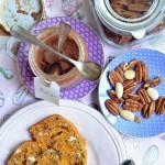 Unisco puntini… PaneCake alla zucca e noci pecan  (vegan)