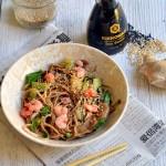 Il Bok Choy : noodles con gamberetti