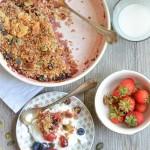 Un Crumble con i fiocchi (senza glutine e senza lattosio)