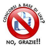 """Concorsi a base di """"like""""? NO GRAZIE!"""