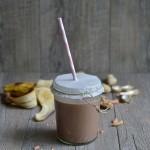 Smoothie al burro di arachidi e cacao