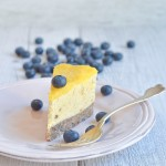 Cheesecake crudista al mango