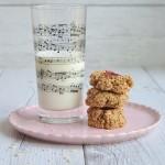 Vintage Cookies ( biscotti all'avena e banana) _ senza zucchero