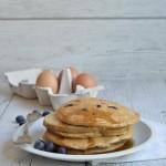 Pancake integrali allo yogurt greco ( senza zucchero)