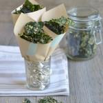 Kale chips al formaggio-non formaggio