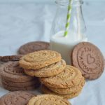 Biscotti di frolla alla vaniglia e nocciole  _ vegana _