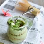 Tiramisù vegano al tè Verde