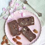 Banana Bread al cacao e noci pecan _ vegan _