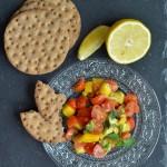 Insalata di pomodorini e mango