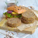 Burger di lenticchie _vegetariano_