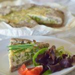 Torta salata multicereale al tofu
