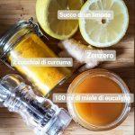 Sciroppo di curcuma, zenzero e limone _ Rimedi Naturali _