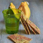Cracker crudisti alla zucca _ senza glutine _