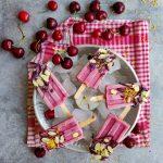 Stecco alla ciliegia e cioccolato